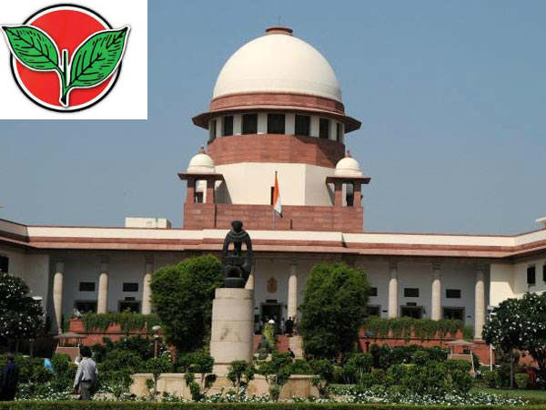 Two Leaves battle: AIADMK files caveat in Supreme court