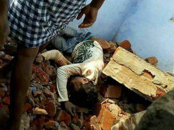 A youth killed while demolishing house near in Nellai