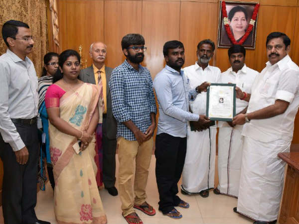 TN CM Edapadi Palanisamy gives Anitha's family Rs 7 lakh fund and government job