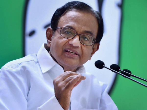 P.Chidambaram says that CM is the real leader of TN administration