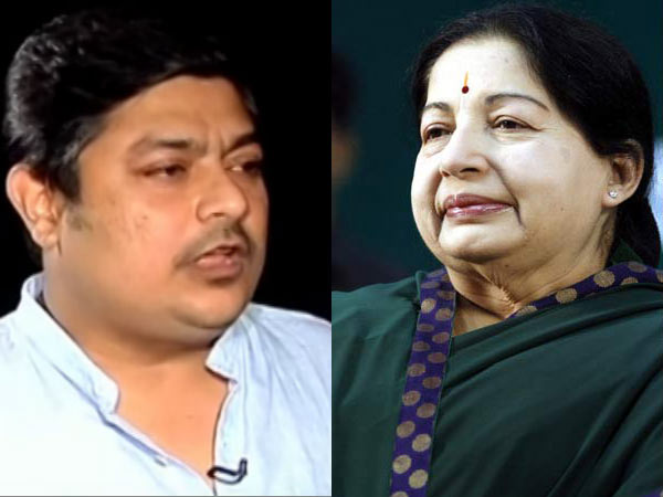 Jayalalitha brother son Deepak appeared in the Aarumugasami inquire commission