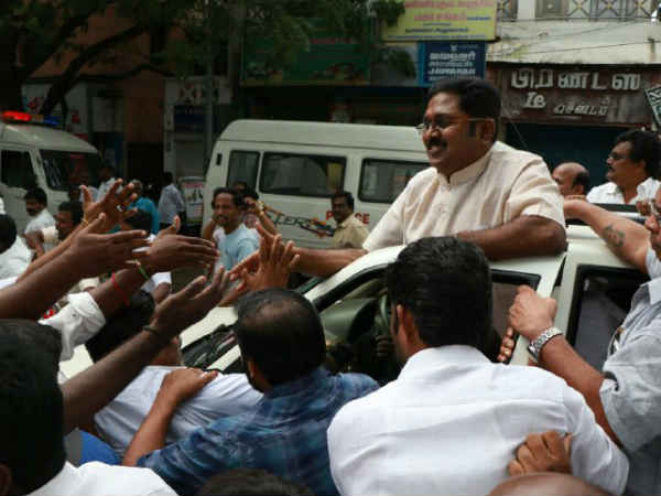 Police not permit to do campaign in RK Nagar for TTV Dinakaran