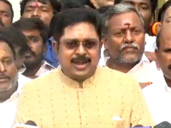 Let Rajinikanth announce about his political arrival first then will see: TTV Dinakaran