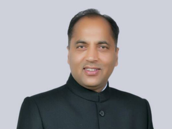 Jairam Thakur becomes new chief minister of Himachal