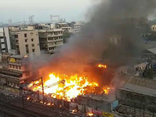 Major Fire Broke out 12 killed in Namkeen Maker Shop in Mumbai