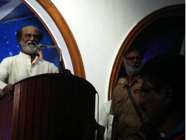Rajinikanth responded to a question of political announcement