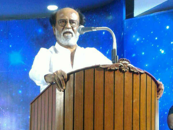Rajini says he came into politics for people