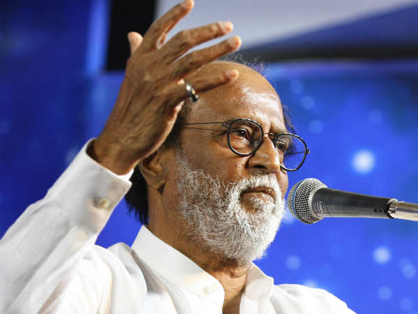 Again Tamil Actor Rajini speech on fans meet leads to a Political Suspense