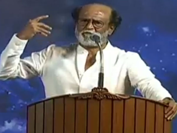 If Rajini decided anything he wont get back from it says Kalaiganam