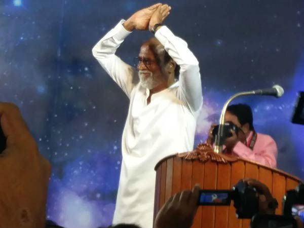 Rajini extends his New year wishes