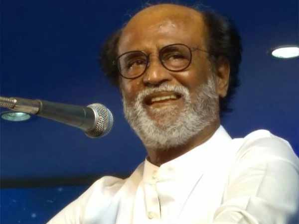 Rajini said he was afraid of media not of politics