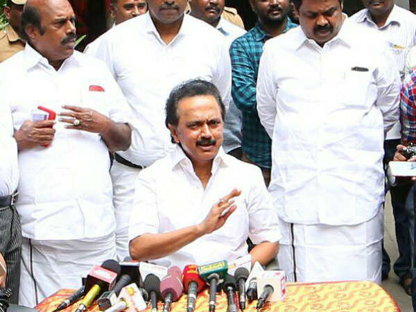 RK Nagar loss is not for DMK its for Democracy: Stalin