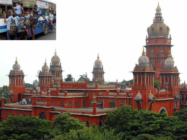 Chennai HC orders Transport Department to oeprate more number of special buses for school Children
