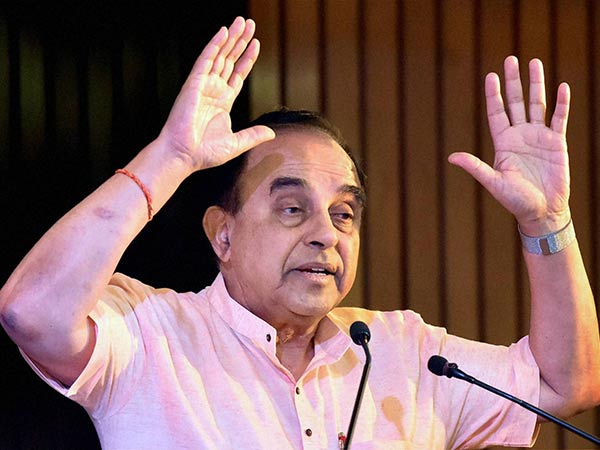 Subramaniyan Swamy needs India to wage war on Pakistan