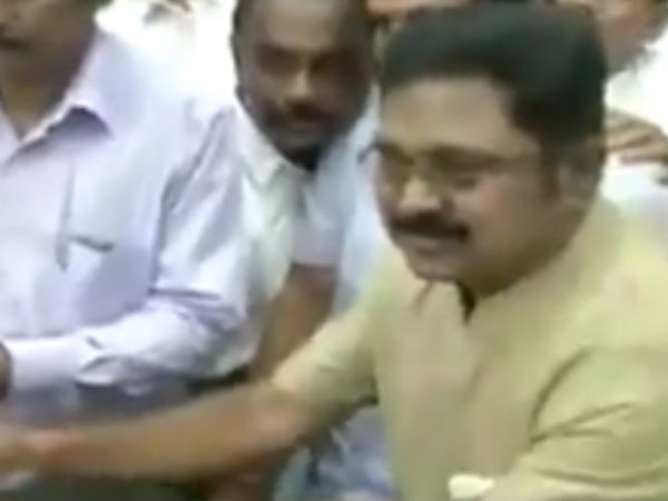 Dinakaran going to take oath as MLA today