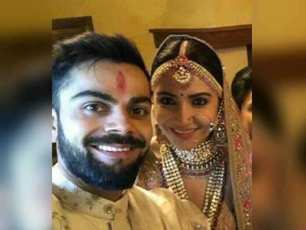 Virat Kohli- Anushka Sharma couple got married in Italy ANI confirmed the news on Twitter