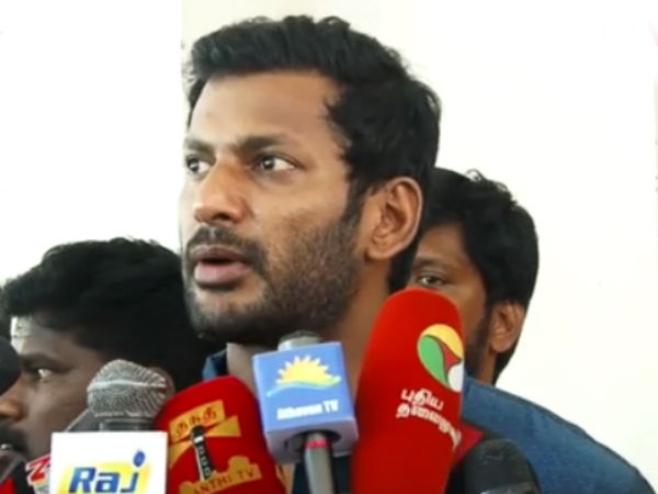 Actor Vishal says that he will ask appointment to meet Governor