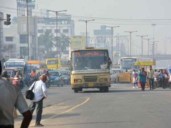 நினைக்கவே பகீர்... சென்னையில் பஸ்ஸில் ஒருமுறை தெற்கு வடக்காக போய்வர குறைந்தது ரூ100 கட்டணம்