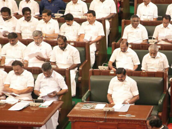 Today is last day of TN assembly's first session