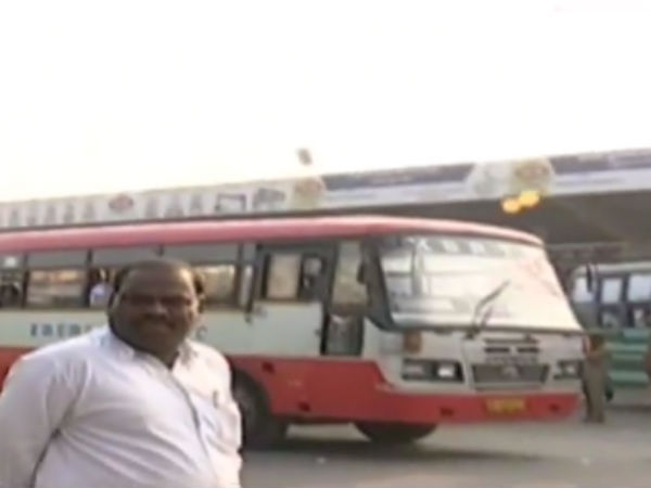 Unidentified persons throwing stones on the buses including chennai in many where
