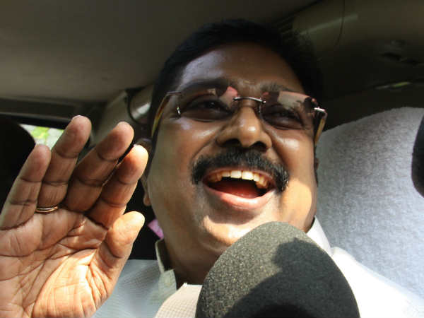 OPS team wants to humiliate Sengottaiyan by dropping him down says dinakaran