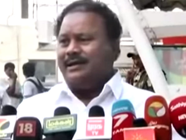 RK Nagar Constituency may get another byelection soon says TN Minister