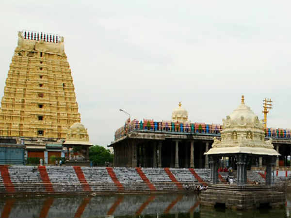 There is not even one percent gold in the Kancheepuram Eakambaranathar temple