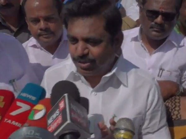 Tamilnadu CM Palanisamy says that soon Salem will get bus port with high facilities