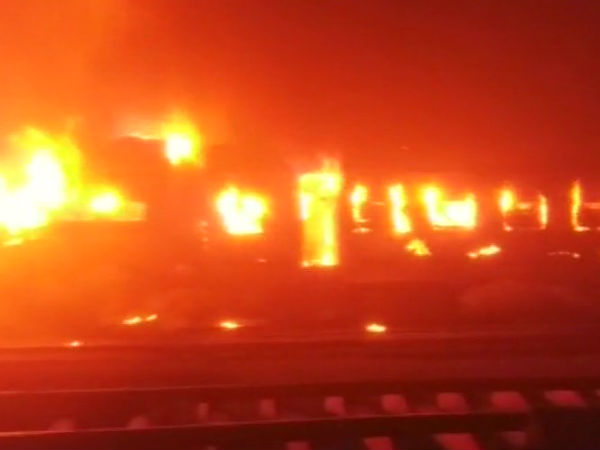 Patna-Mokama passenger train gutted
