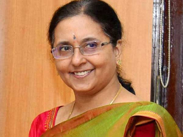 Grija Vaithiyanathan again taken charge as Chief secretary of Tamil Nadu govt