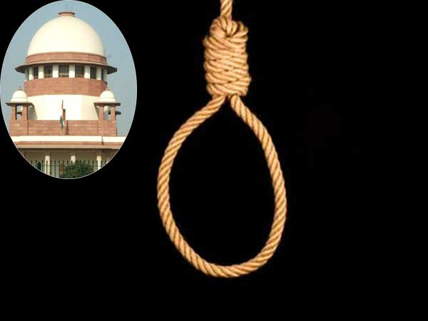 Whether the death penalty could be executed in any way other than hanging: Supreme court
