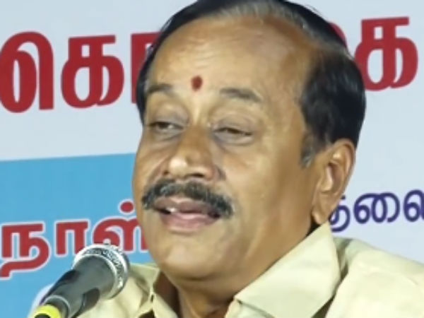 H Raja's filthy speech against Poet Vairamuthu