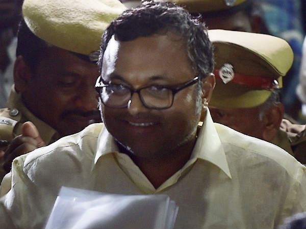 Karthi Chidambaram filed plea in sc to get permission