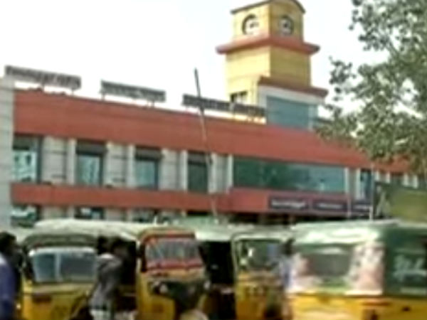 Coimbatore auto drivers affected by the police near railway station