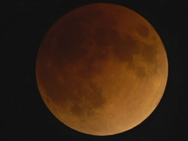 People are interested to watch the lunar eclipse