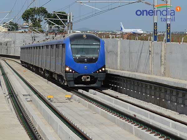 Heavy Rush in chennai Metro and suburban Trains