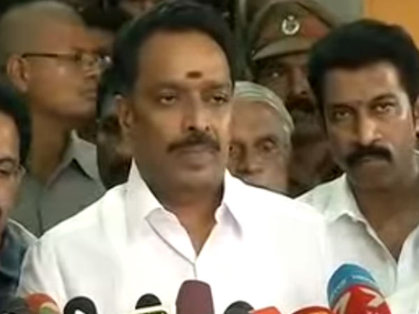 Minister Vijayabaskar advices workers to get back the strike