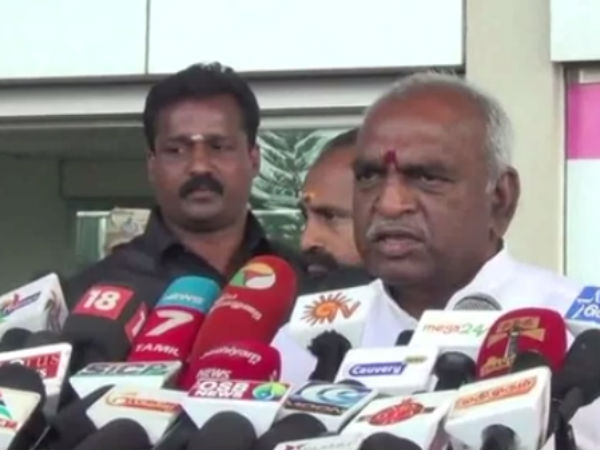 The final chapter of AIADMK is being written: Minister of state Ponradha Krishnan