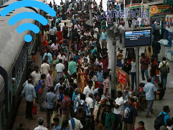 Railway plans to install free wifi in 26 stations