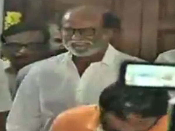 Rajini says he is meeting Karunanidhi to wish him in new year
