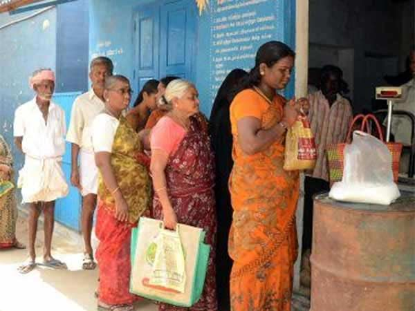 Minister Kamaraj says that ration food products will be given even no smart card