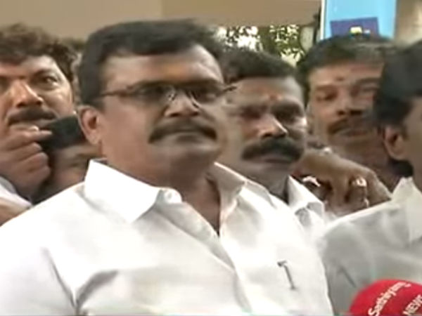 TTV Dinakaran's supporter Thanga tamilselvan welcomes DMK protest against Governor visit
