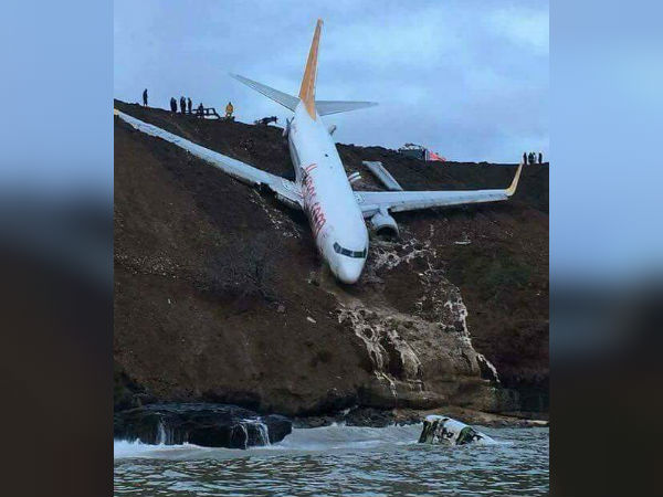 Turkey plane skids off runway, passengers escape unhurt!
