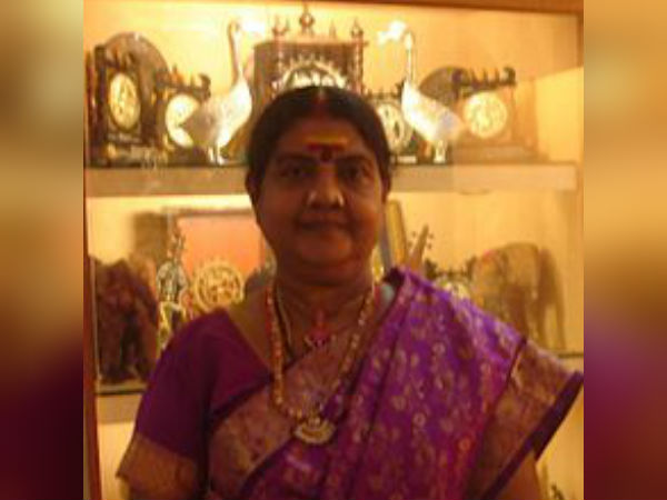Vijayalakshmi Navaneetha Krishnan gets 2018 Padma Shri