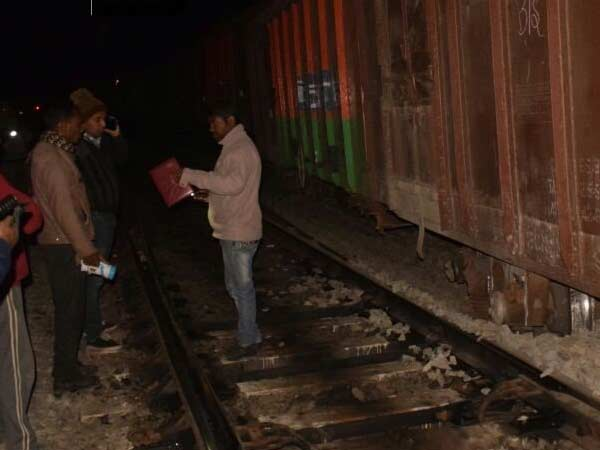 10 boxes were derailed in a freight train accident in Madhya Pradesh