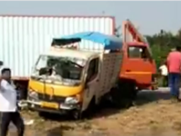 8 dead in accident near Kanchipuram