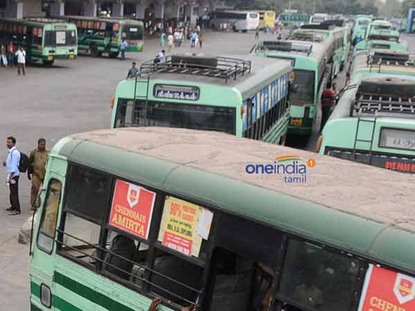 Court Employees Seized Govt Bus For Not Giving Compensation