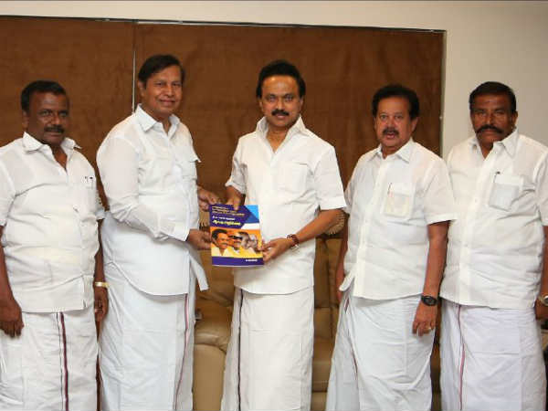 DMK committee for regulating transport corporation submits report to MK Stalin