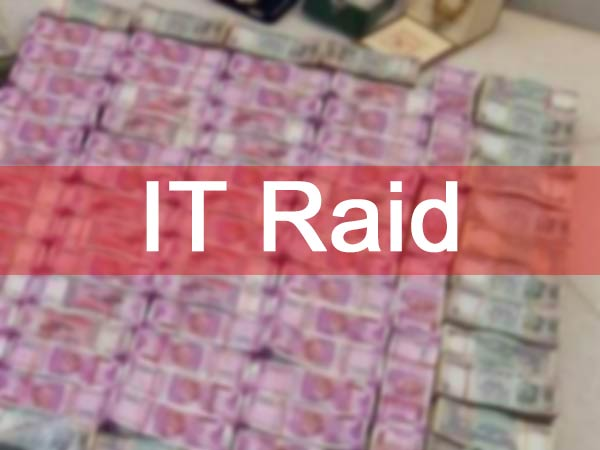 Income tax officials conducting raid at a poultry farm near in Karur
