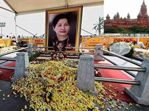 Memorial to late Chief Minister Jayalalithaa: tender case postponed